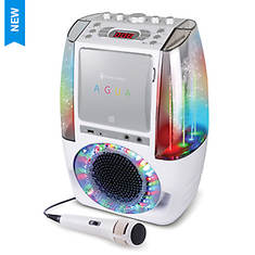 Singing Machine AGUA Karaoke System with Dancing Water