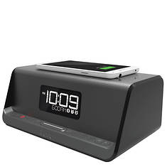 iHome Wireless Charging and Streaming Bluetooth Clock Radio