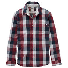 Timberland Men's Back River Brushed Oxford Check Shirt