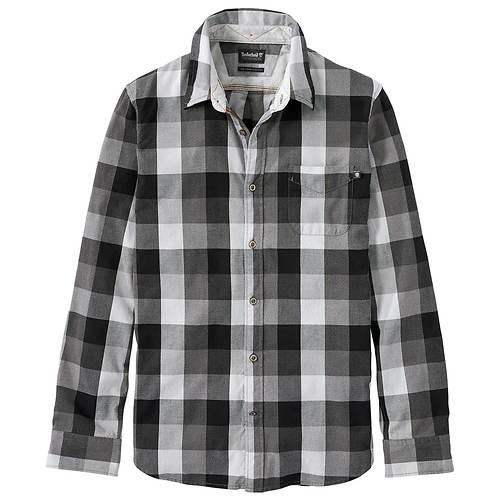 Timberland Men's Back River Brushed Oxford Check Shirt