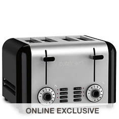 Cuisinart 4-Slice Compact Stainless Steel Toaster
