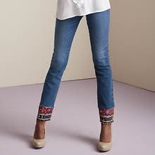 Bombshell Embroidered Jeans