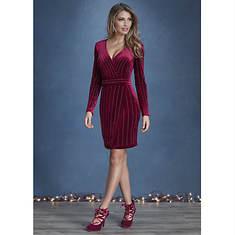 Velvet Rhinestone Dress