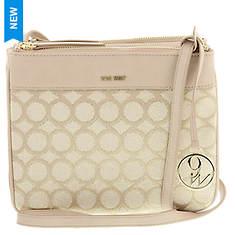 Nine West Women's 9's Jacquard Crossbody Bag