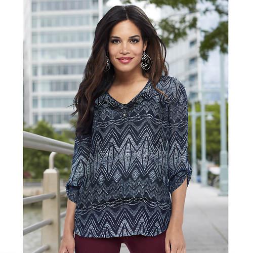 Women's Printed Woven Blouse