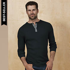 Slub Thermal Henley