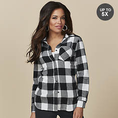 Flannel Button Up Shirt