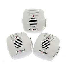 Bell+Howell 3-Pack Ultrasonic Pest Repeller