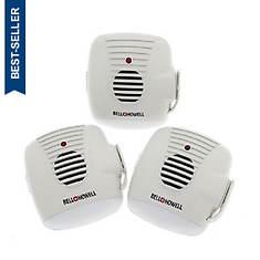 Bell+Howell 3-Pack Ultrasonic Pest Repeller