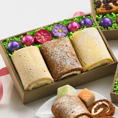 Bakery Box Cake Rolls