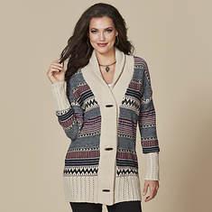 Women's Toggle Sweater