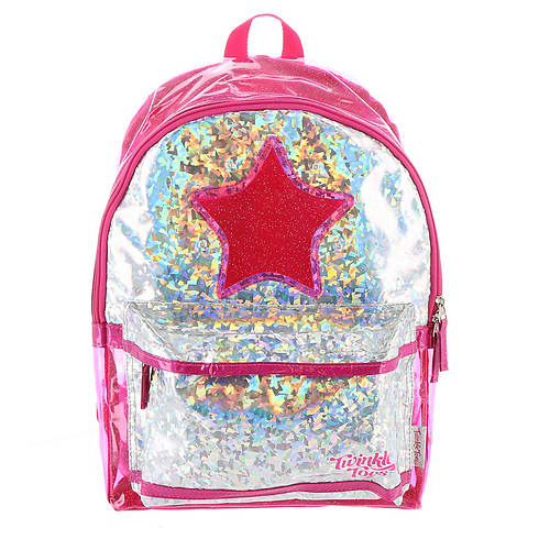 Skechers Twinkle Toes Girls' Holographic Space Backpack