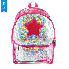 Skechers Girls' Holographic Space Backpack