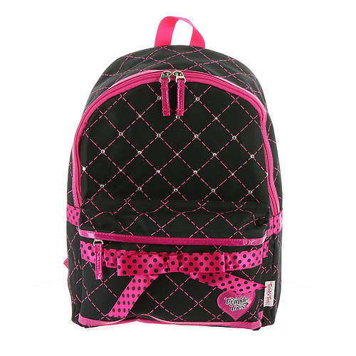 Skechers Twinkle Toes Girls' Diamond Quilted Backpack