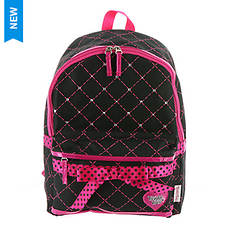 Skechers Girls' Diamond Quilted Backpack
