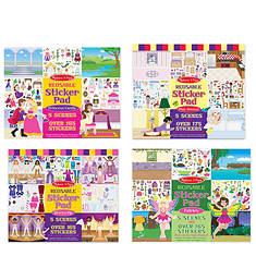 Melissa & Doug Sticker Pad Dress - Play House