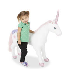 7345b6857d9 Melissa   Doug Unicorn - Plush