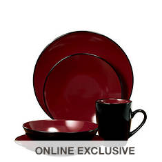 Thomson Pottery Domo 16-Piece Dinnerware Set