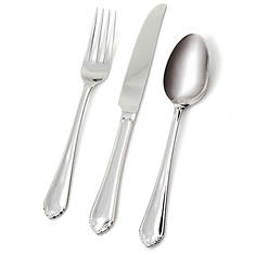 Hampton Forge Motif Frosted 20-Piece Flatware Set