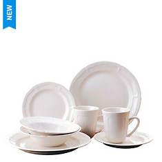 Thomson Pottery Bianca 16-Piece Dinnerware Set