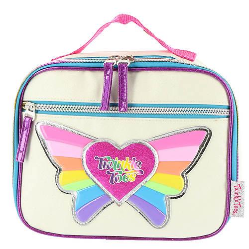 Skechers Twinkle Toes Girls' Rainbow Flyer Lunch Case