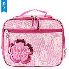 Skechers Twinkle Toes Girls' Chantily Rose Lunch Case