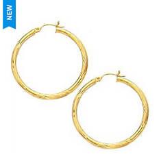 Jilco Gold Hoop Earrings