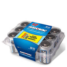 Rayovac D Batteries 12-Pack