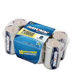 Rayovac C Batteries 8-Pack