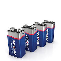 Rayovac 9V Batteries 12-Pack