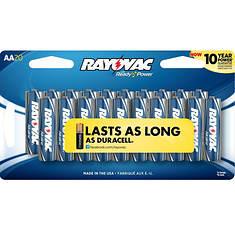 Rayovac AA Batteries 20-Pack
