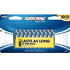 Rayovac AAA Batteries 20-Pack