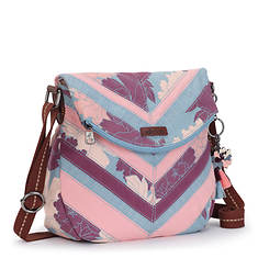 Sakroots Artist Circle Foldover Crossbody Bag