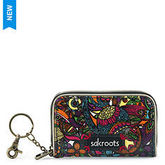 Sakroots Artist Circle Zip ID Case
