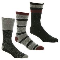 UGG® Men's Crew Sock 3-Pack Gift Set