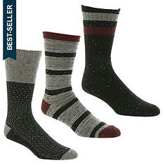 UGG® Men's Crew Sock 3-Pack Gift Set