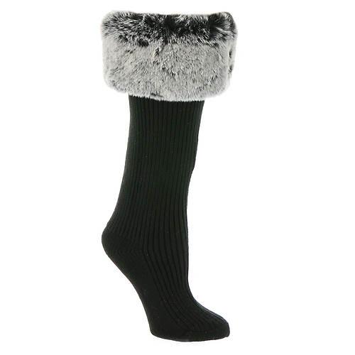 UGG® Faux Fur Tall Rainboot Socks (Women's)