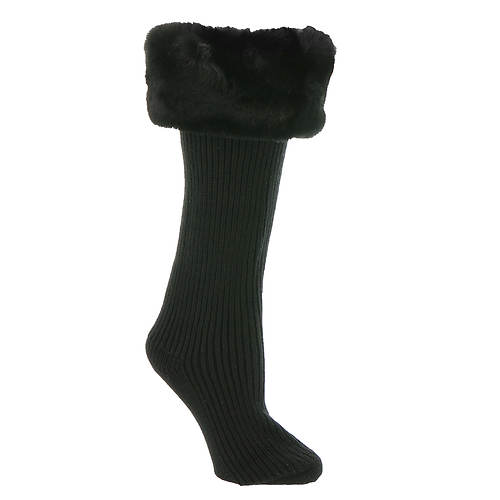 UGG® Faux Fur Tall Rainboot Socks (Women's)