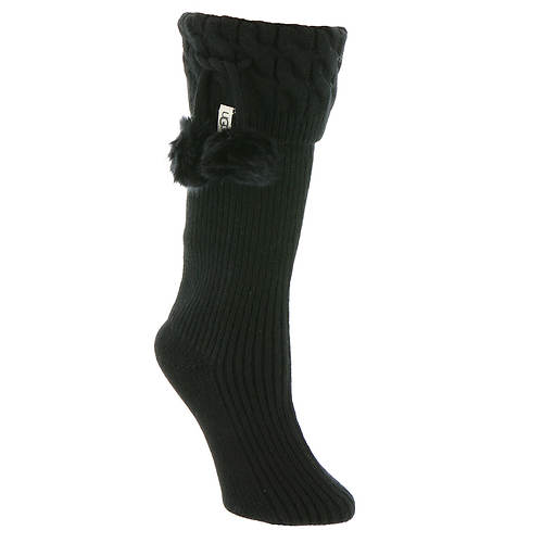 UGG® Pom Pom Tall Rainboot Socks (Women's)
