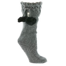 UGG® Pom Pom Tall Rainboot Socks (Women's)