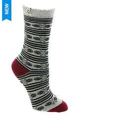 UGG® Fair Isle Fleece Lined Socks (Women's)