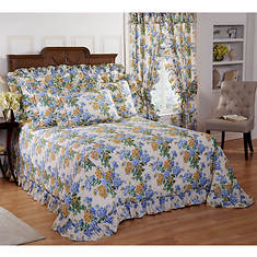 Hydrangea Bedspread