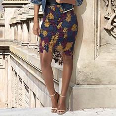 Multi-Color Lace Skirt