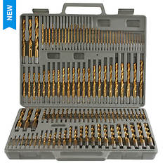 Pro-Series 115-Piece Titanium Drill Bit Set