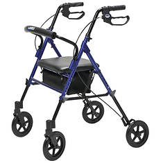 Lumex Extra-Wide 4-Wheel Rollator