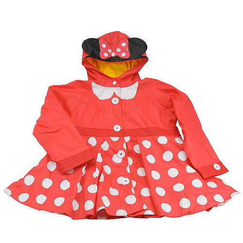 Western Chief Girls' Minnie Mouse Rain Coat