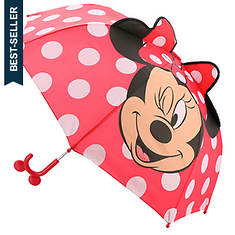 Western Chief Girls' Minnie Mouse Umbrella