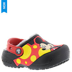 Crocs™ CrocsFunLab Lined Mickey Clog (Kids Toddler-Youth)