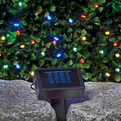 Multi Color Solar String Lights