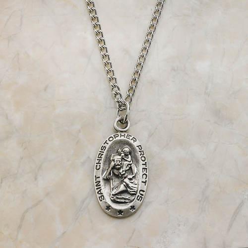 Saint's Medal-St. Christopher